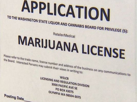 Application for Marijuana License
