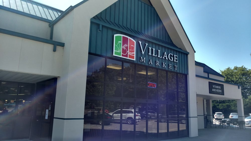 Village Market: Part of Flemming Plaza
