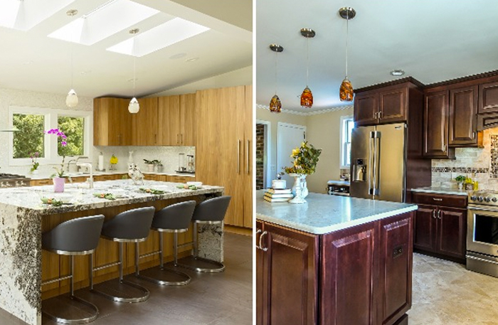 2 Stylish Kitchens, 2 Different Vibes   Long Island Press