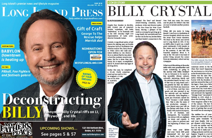 Cover Story: Deconstructing Billy    Long Island Press