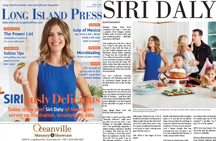 Cover Story: SIRIously Delicious   Long Island Press