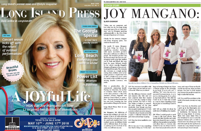 Cover Story: A JOYful Life   Long Island Press