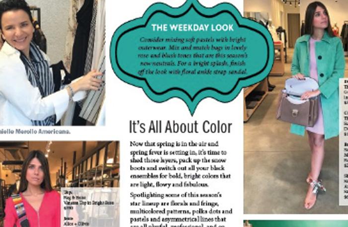Spring Fashion Report   Long Island Press