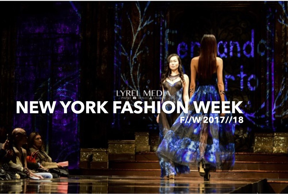 I Heart Fashion | 2017 | New York Fashion Week | Designer