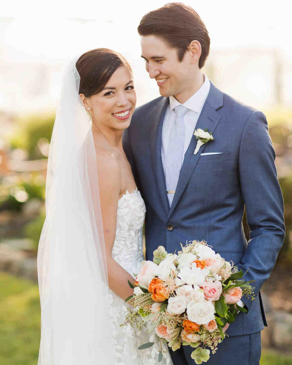 Sunny, Citrus California Wedding