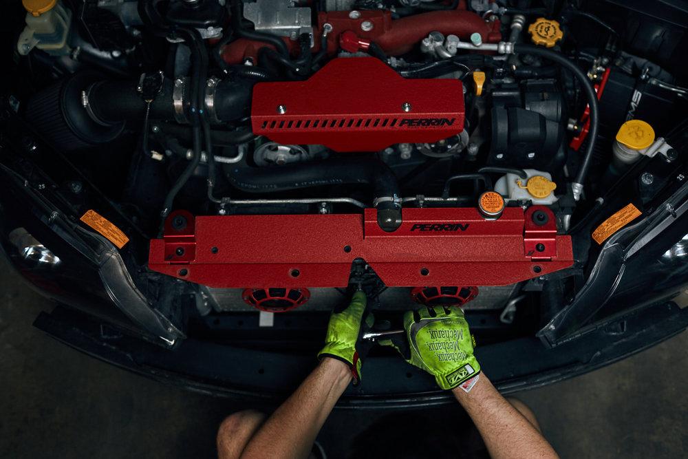 Subaru WRX STI and perrin photoshoot