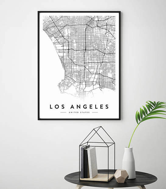 custom city map -