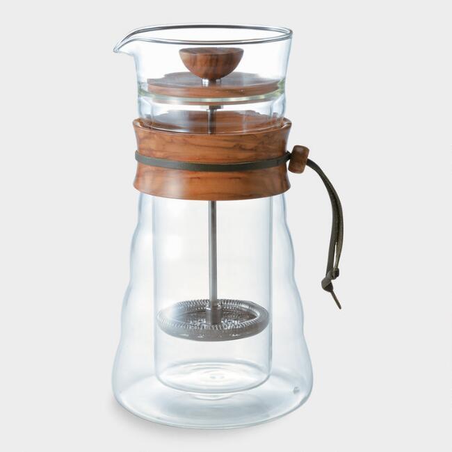 french press coffee maker -