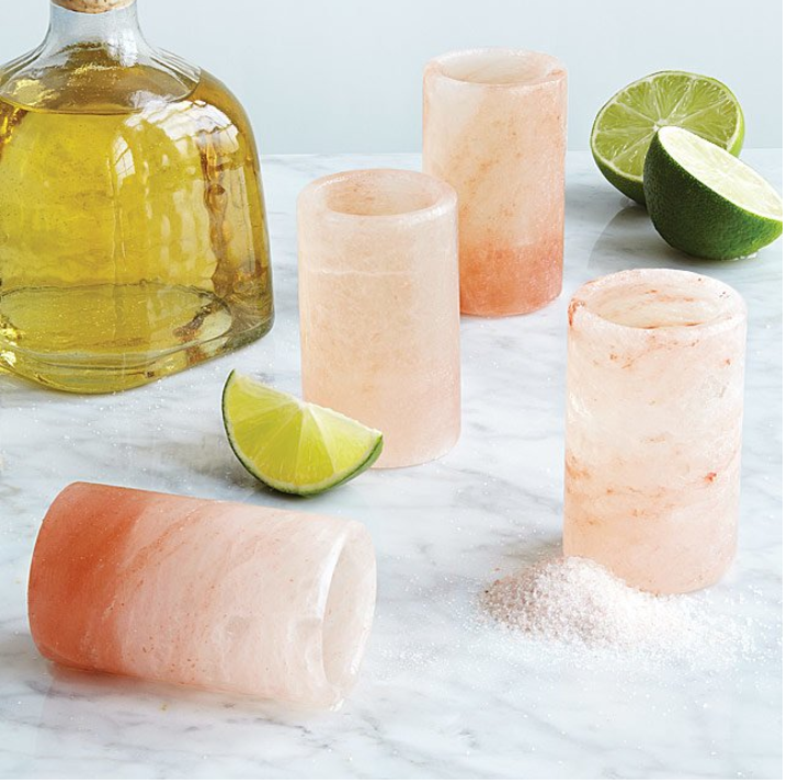 himalayan salt shot glasses -