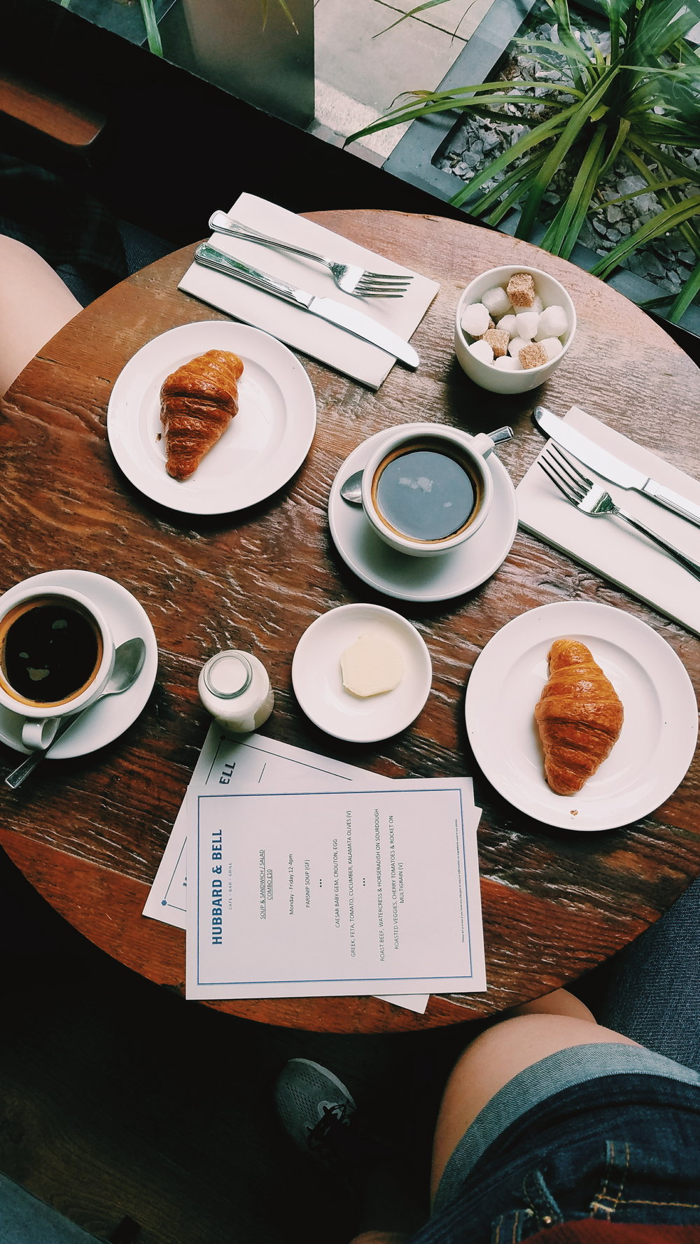 At the time of taking this photo, I was barely awake as we were waiting for a bus that was taking ages. Never would I have guessed the overpriced croissant and espresso breakfast pictured would still remain one of my favorite pictures from my trip