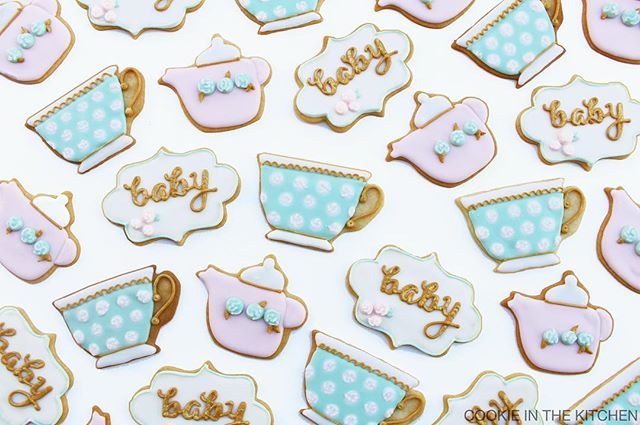 tea party or baby shower? why not both!