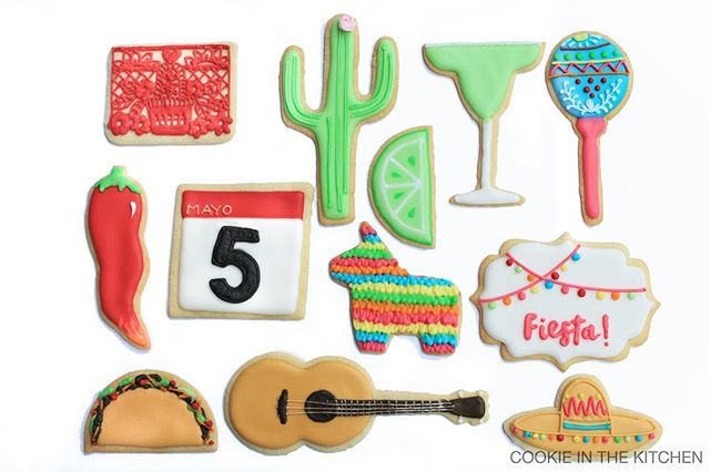 what better way to celebrate cinco de mayo than with cookies? 🌵🌮🎸