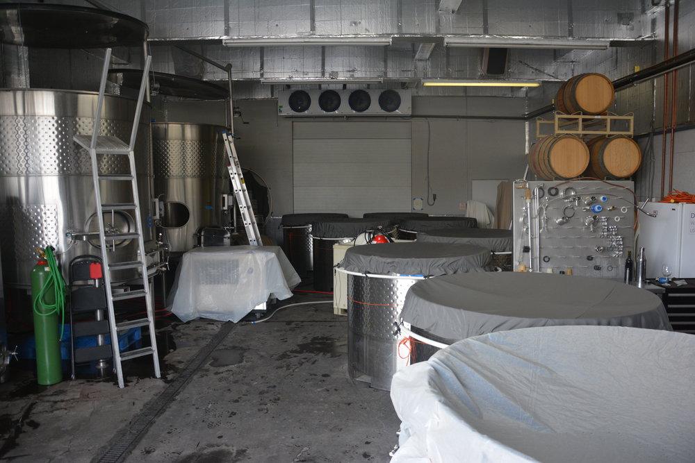 One very full cellar...