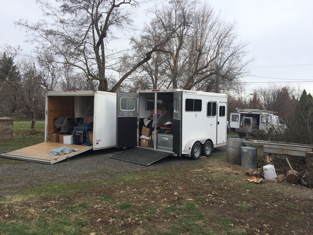 We have begun our move! This is the first of many loads to our new home in Monmouth, Oregon. For now, and through the 2018 harvest, the winery remains in Walla Walla. Next up - find a new home for the winery...