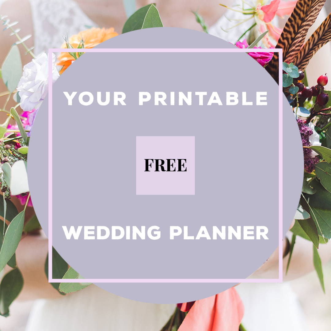 Free Printable // The Wedding Planning Checklist — The