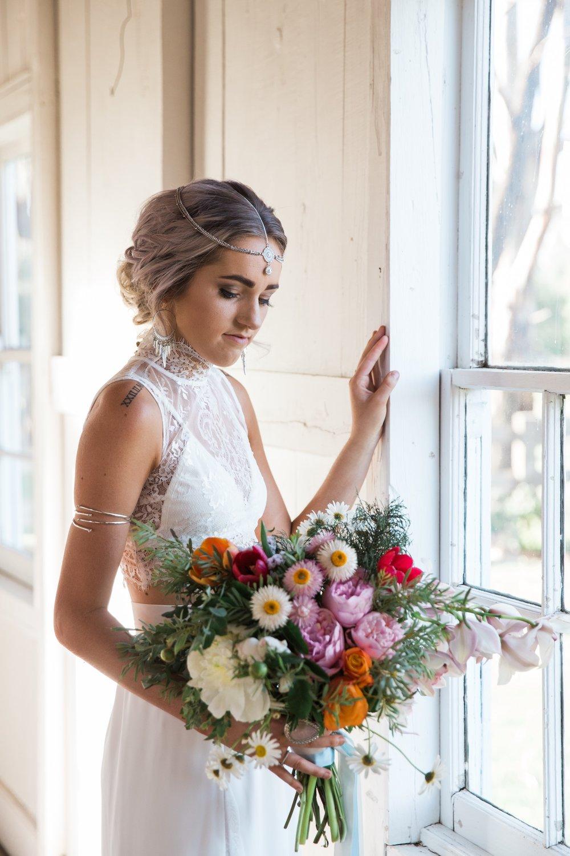 boho bride dubbo wedding
