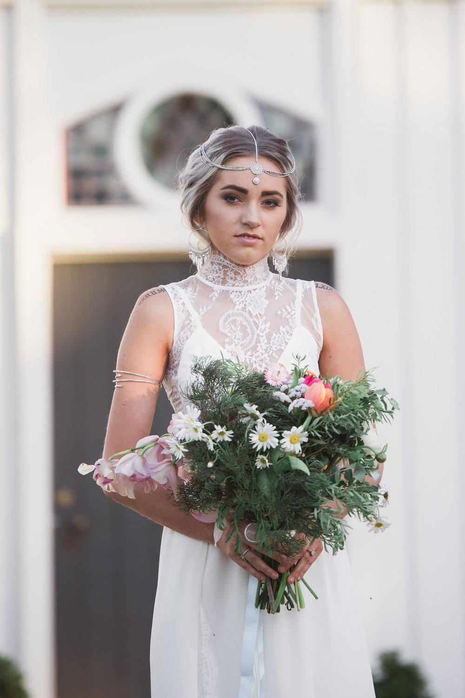 Dubbo boho wedding bride