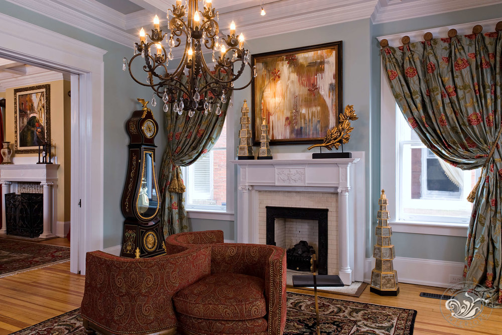 Monument Avenue Richmond foyer entry parlor