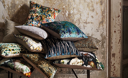 Romo Black Edition Herbaria Pillows