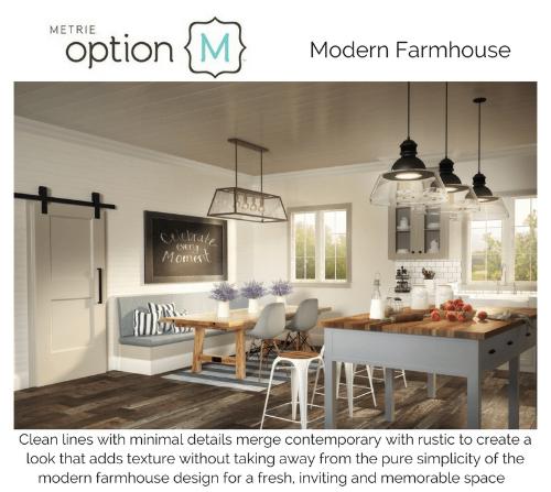 Metrie Option M Modern Farmhouse