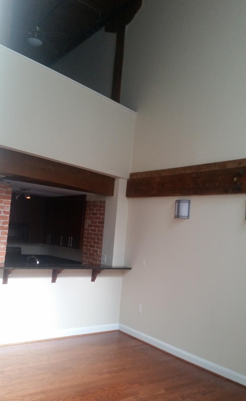 Kitchen / Loft View - Before