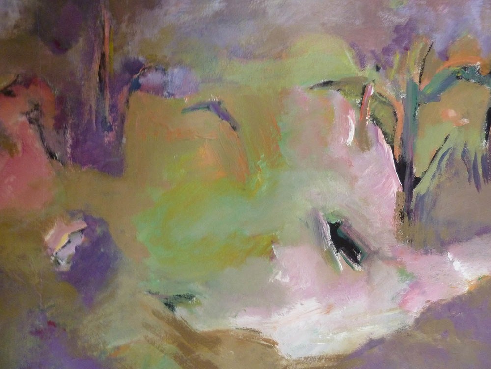 Irma Denk,  My Garden , 2016, 82 x 67cm, acrylic on paper.