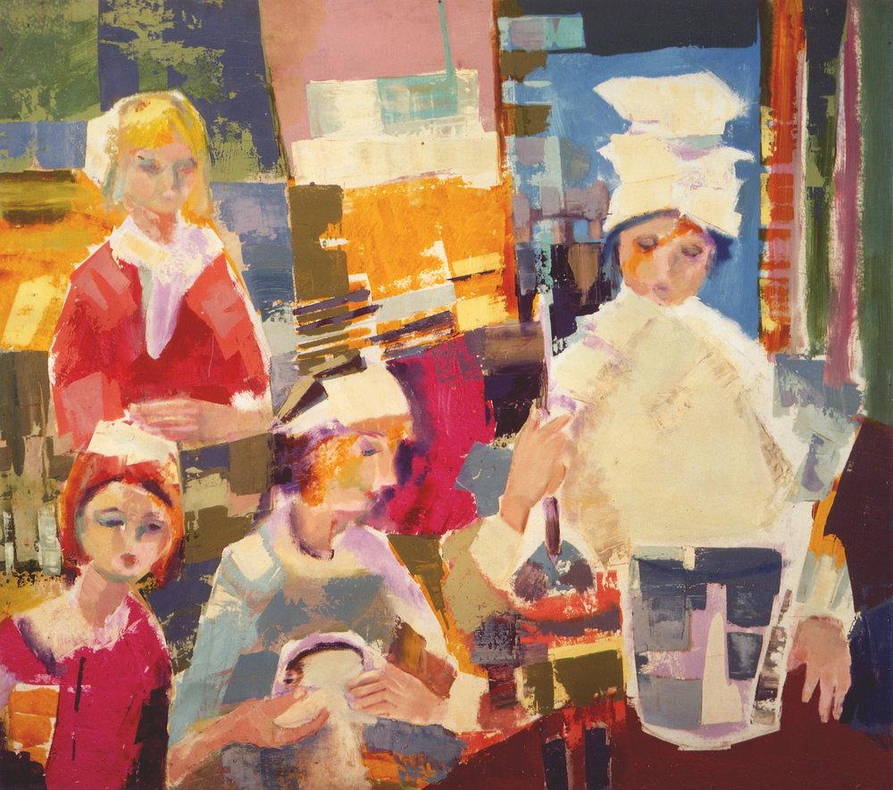 Wladyslaw Dutkiewicz,  Kitchen , 1970