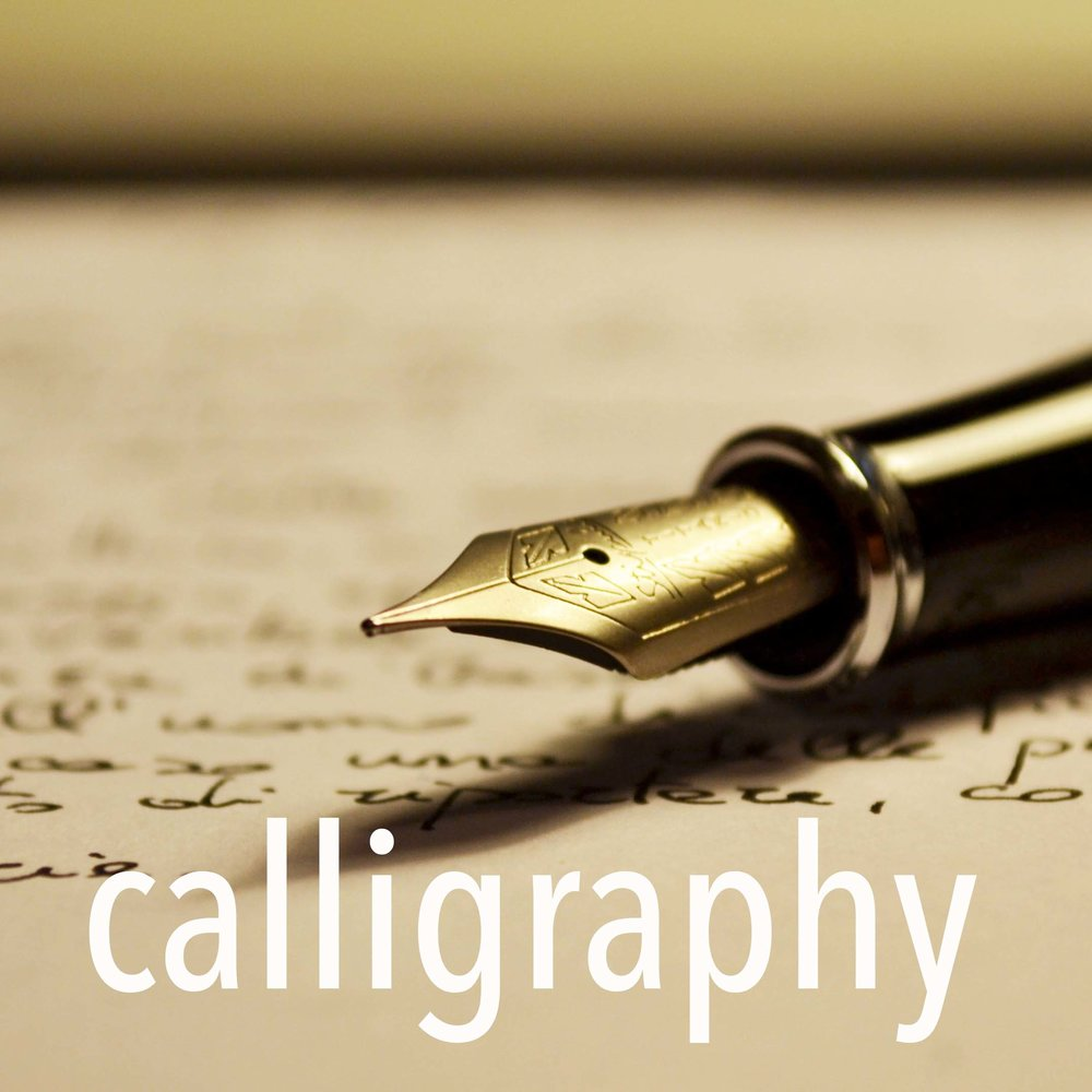 Easy calligraphy with Anne Taylor