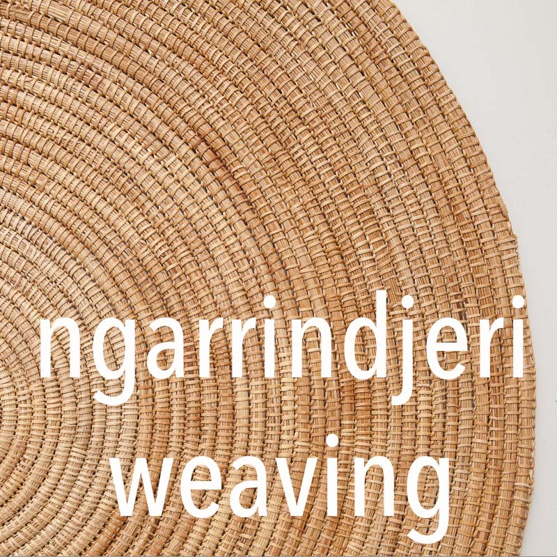 Ngarrindjeri weaving demonstration by Aunty Ellen Trevorrow