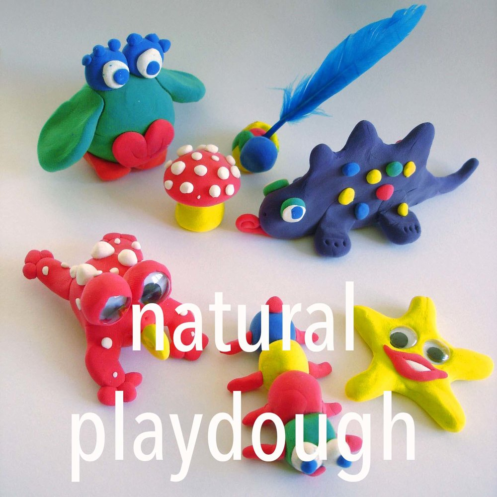 Kids playdough creations with Aunty Lena