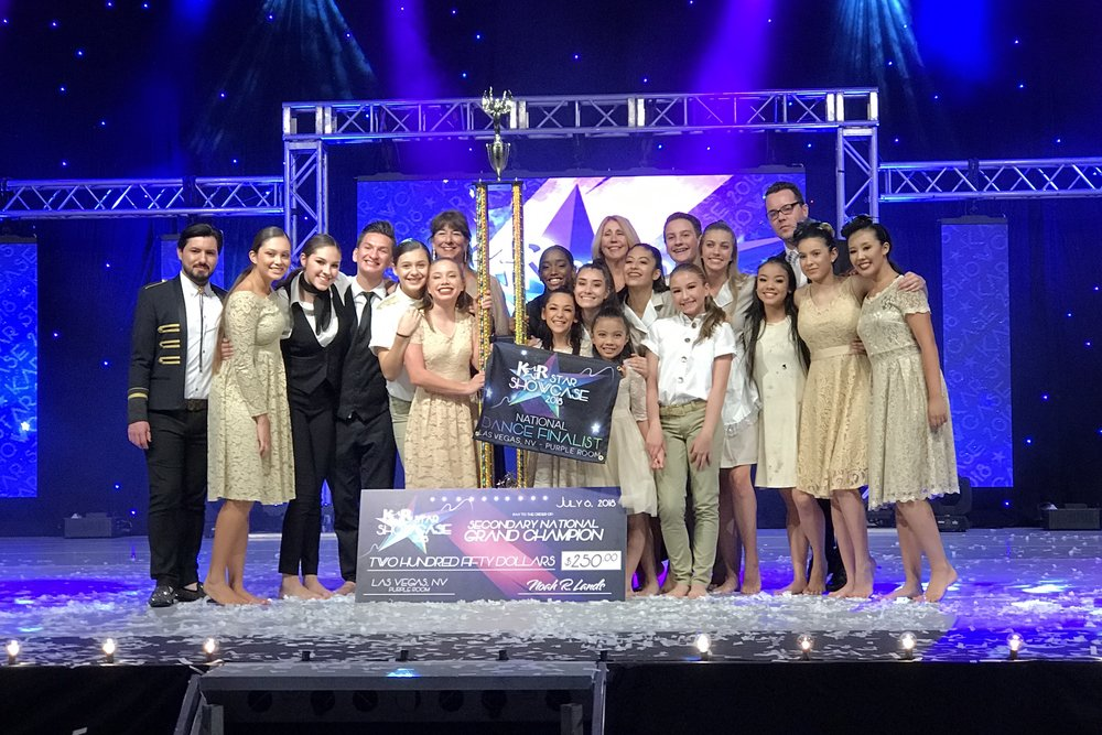 Congratulations - 2018 NATIONAL GRAND CHAMPIONS in las vegas, nv: The grand hotel!