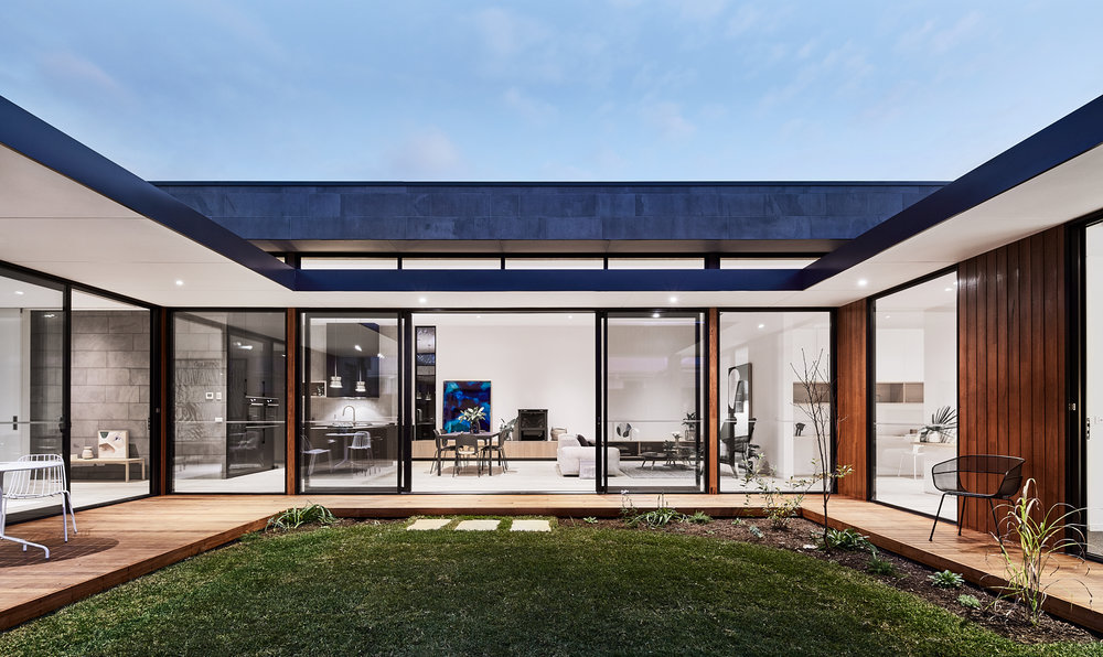 Courtyard House designed by Auhaus Architecture for Life Spaces Group