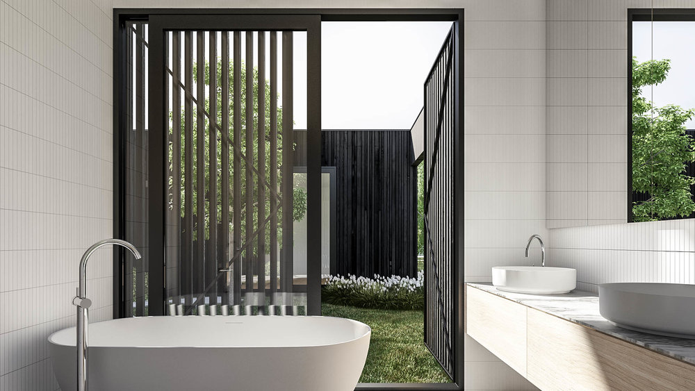 Double Court House by Auhaus Architecture for Life Spaces Group bathroom.jpg