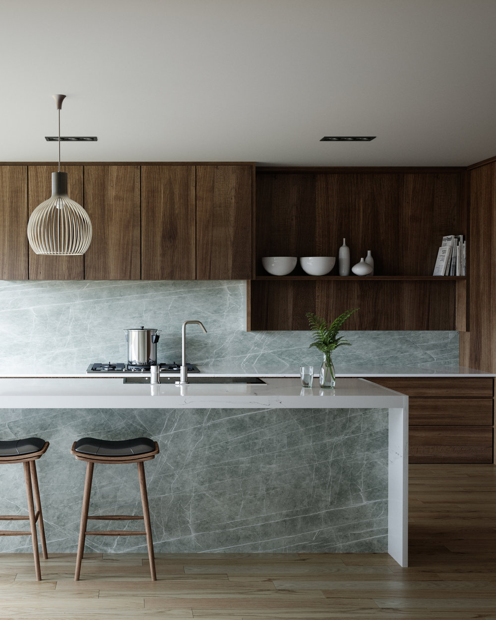 Neolith Zaha Stone Kitchen