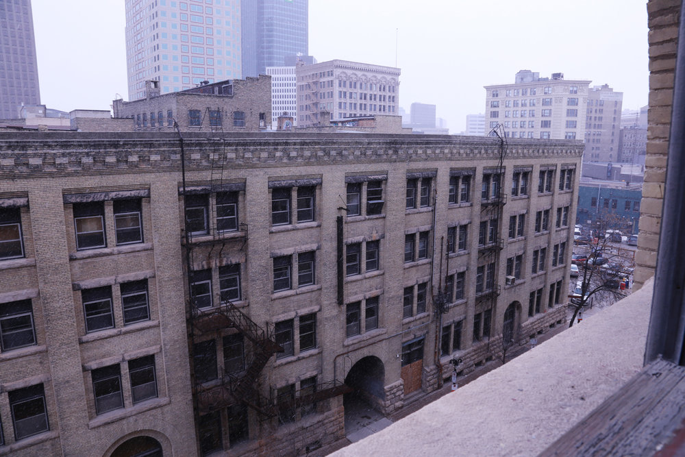 Right in the heart of the Exchange District