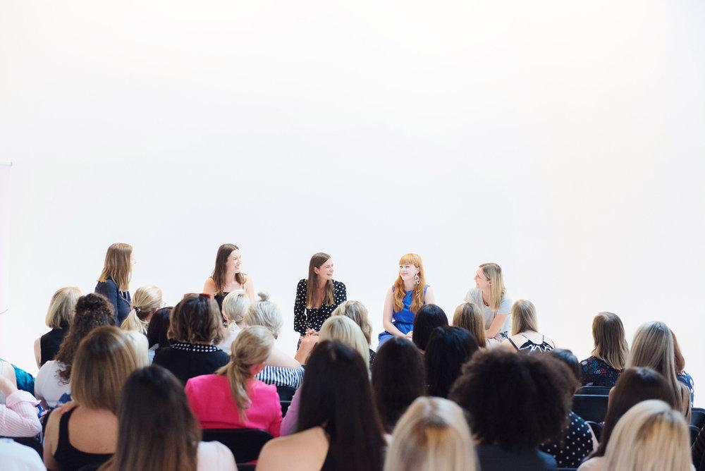 Chelsea Murphy, me, Kate Dalton, Rachel Burke and Natalie Thorogood.