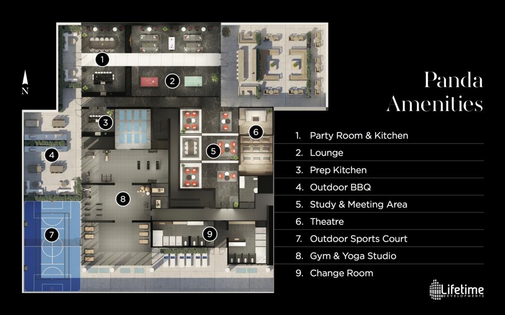 Amazing amenities