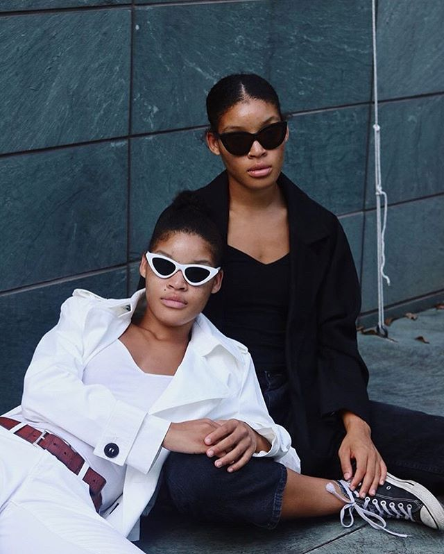 Cool Kids Models: @ambrsffr & @asaffore  Photo/Style: @lex.soul . . . . #blackinthesummer #coolkids #blackgirlmagic #fashion #thinshades #cloutgoggles #reppmagazine #submission