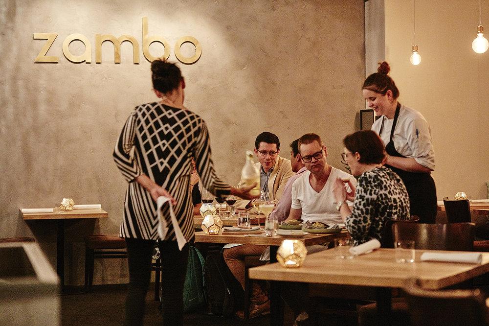 Zambo staff