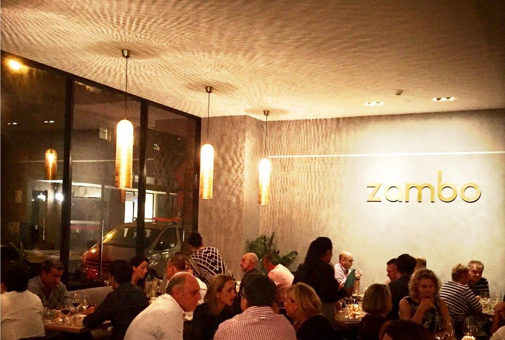 Zambo main dining room