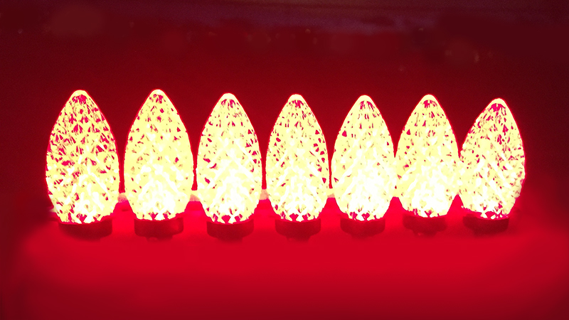 C-9 Red Bulbs