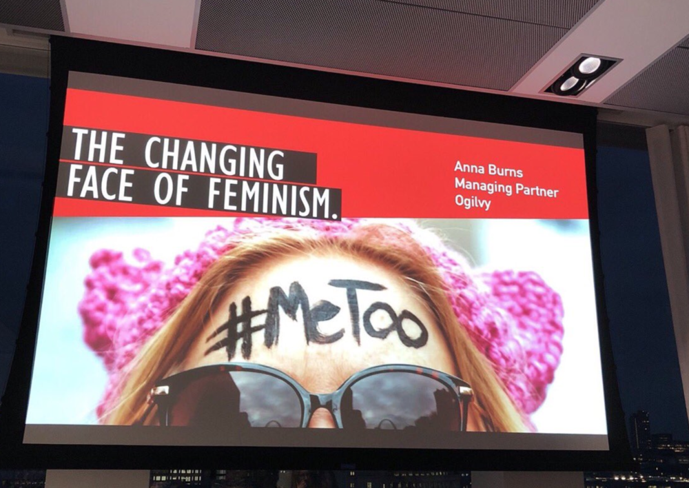 THE CHANGING FACE OF FEMINISM  EVENT  Here we thought it was a regular quiet Wednesday evening but LO AND BEHOLD Ella Dolphin, the CEO of Shortlist Media  gave The Other Box a shoutout  at The Changing Face of Feminism event at Ogilvy. We. Are. So. Gassed!!!