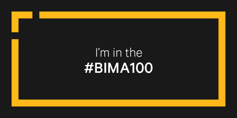 #BIMA100  AWARD  We are delighted to have made the #BIMA100 for all of the work we do with The Other Box. And we are in great company too! Congratulations to all involved.