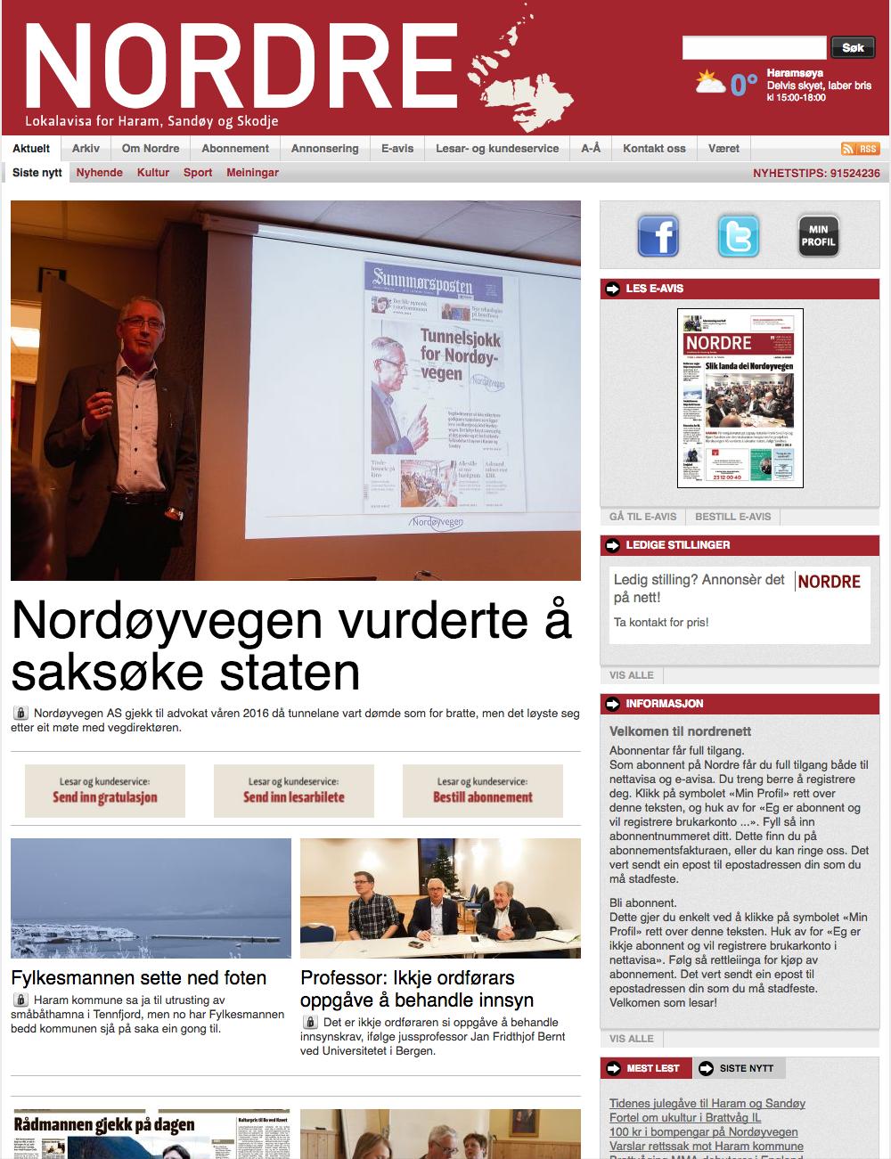 blad abonnement norske jenter snap