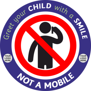 "Image result for ""Greet your child with a smile, not a mobile""."