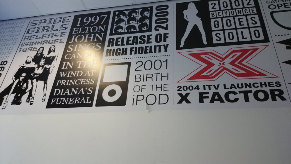 Academy 360 Music wall wrap