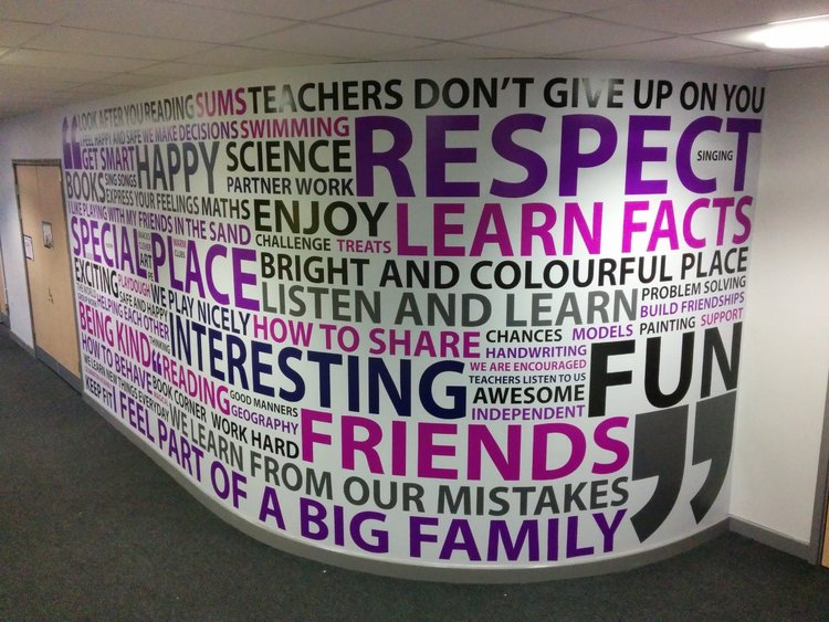Academy 360 wall wrap