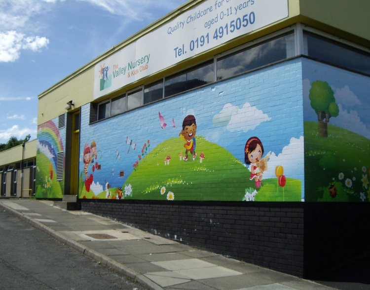 Valley Nursery exterior wall wrap