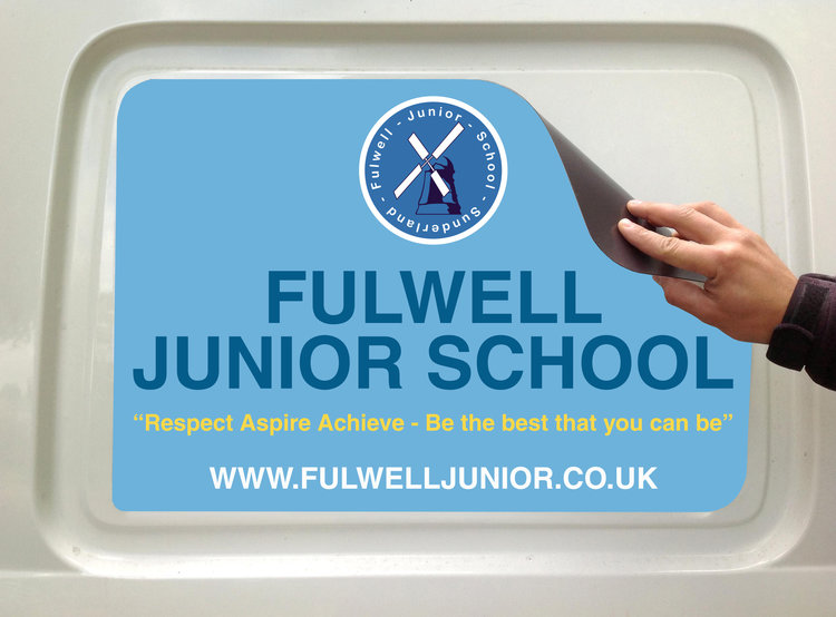 Fulwell Junior School Vehicle Magnets