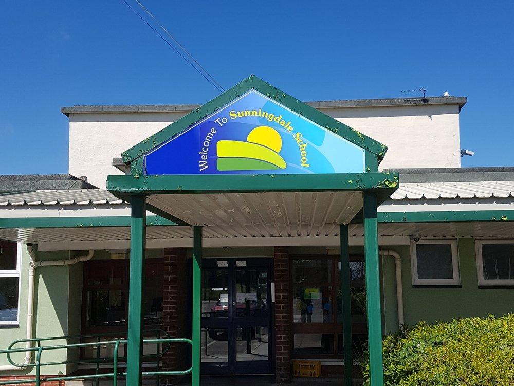 Sunningdale Primary Dibond Fascia Sign